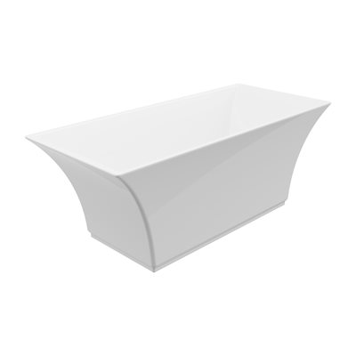 "Abzu Freestanding Bathtub 67"" with faucet"