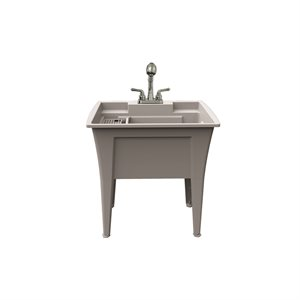 """Jewel Laundry Tub kit With Faucet 32"""""""