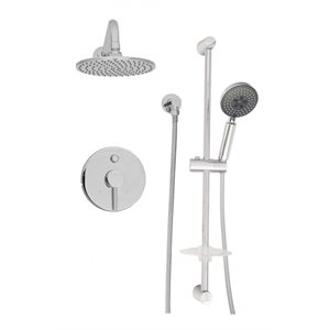 Complete pressure balanced shower kit