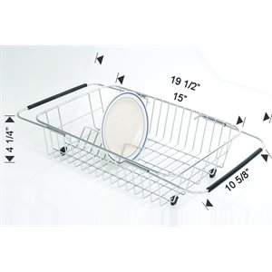 DISH TRAY STAINLESS