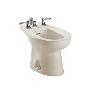 TOTO® Piedmont® Deck Mount Vertical Spray Flushing Rim Bidet, Sedona Beige - BT500B#12