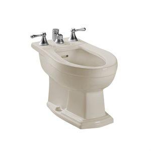 TOTO® Clayton® Deck Mount Vertical Spray Flushing Rim Bidet, Sedona Beige - BT784B#12