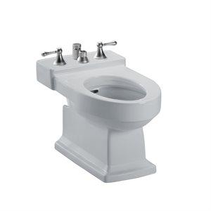 TOTO® Lloyd® Deck Mount Vertical Spray Flushing Rim Bidet, Cotton White - BT930B#11