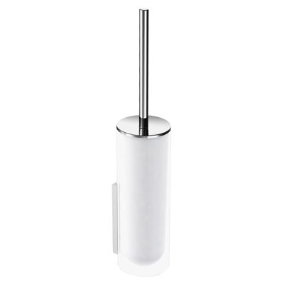 Toilet brush set | complete | polished chrome