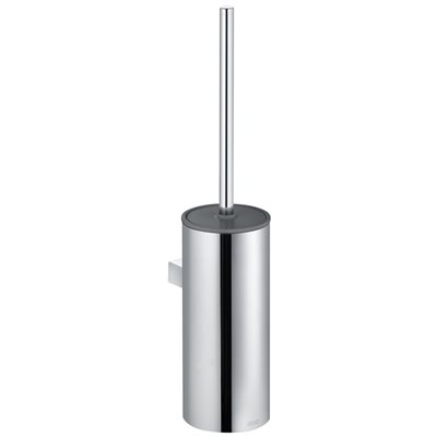 Toilet brush set | wall model | chrome-plated / anthracite
