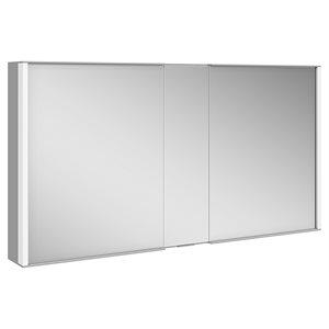 """52"""" Mirror cabinet   aluminum"""