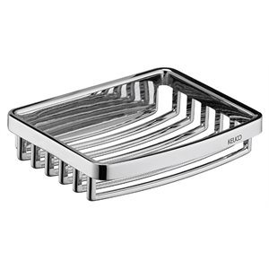 Soap basket removable | polished chrome