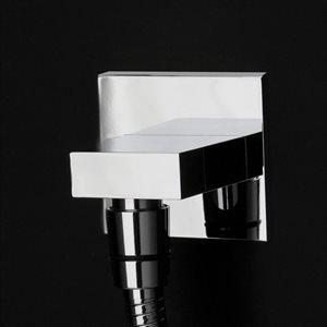 Kubista Shower Head Matte Black