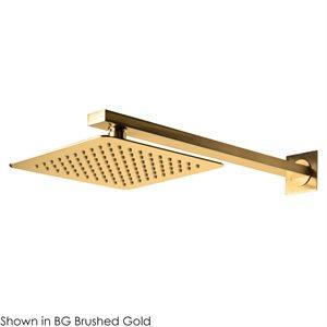 Eleganza Shower Head Brushed Gold