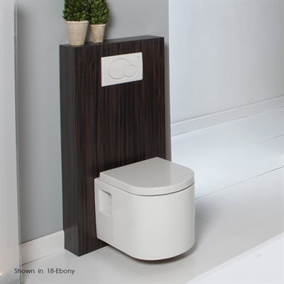Tre Toilet Ash Gray