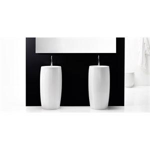 Ottavo Bathroom Sink White