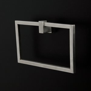 Quadro Hardware Brushed Stainless Steel