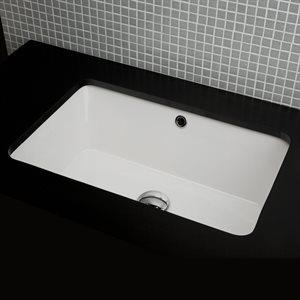 Aquagrande Bathroom Sink White