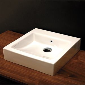 Aquagrande Bathroom Sink White
