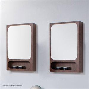 Aquatre Medicine Cabinet Gloss Black
