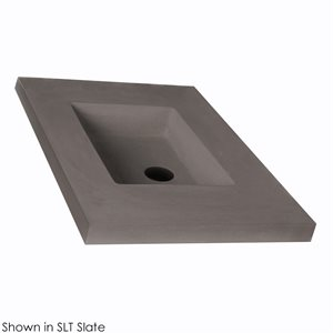 Countertop made of concrete for vanity NTR-VS-30