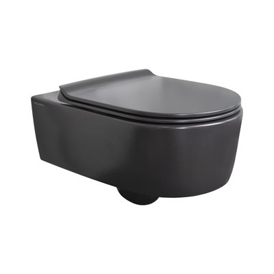 NAVI WALL MOUNT TOILET MATTE BLACK