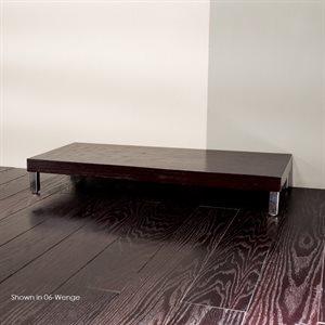 Plaza Storage Cabinet Black with Fine Texture