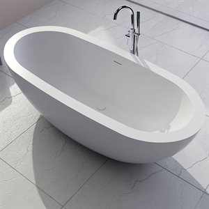 ARMOSA Bathtub Matte White