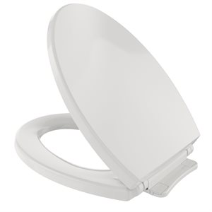 ELONGATED SOFT CLOSE SEAT COLONIAL WHITE