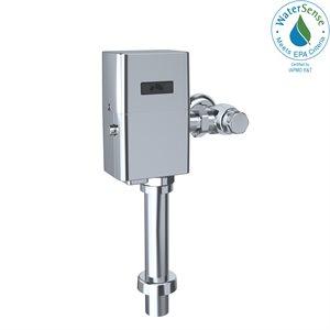 TOTO® ECOPOWER® Touchless 1.28 GPF Toilet Flushometer Valve and 12 Inch Vacuum Breaker Set, Polished Chrome - TET1LA32#CP