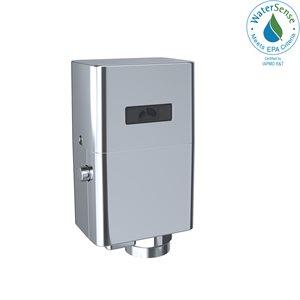 TOTO® ECOPOWER® Touchless 1.28 GPF Toilet Flushometer Valve and 24 Inch Vacuum Breaker Set, Polished Chrome - TET6LA32#CP