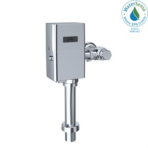 TOTO® ECOPOWER® Touchless 1.0 GPF Toilet Flushometer Valve and 24 Inch Vacuum Breaker Set, Polished Chrome - TET6UA32#CP