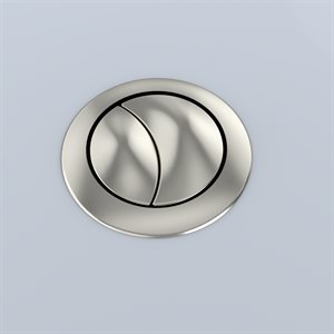 AQUIA PUSH BUTTON MS654 - 53MM SPARE PART - BRUSHED NICKEL