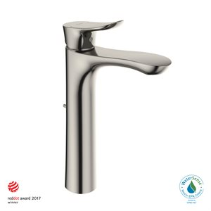 FAUCET,SINGLE LAV,GO(L) 1.2GPM POLISHED NICKEL