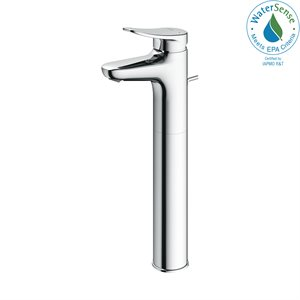 FAUCET,SINGLE LAV,LF (L) 1.2GPM CHROME PLATED W / POPUP