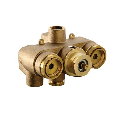 """""""3 / 4"""""""" Thermostatic Mixing Valve (rough valve only)"""""""